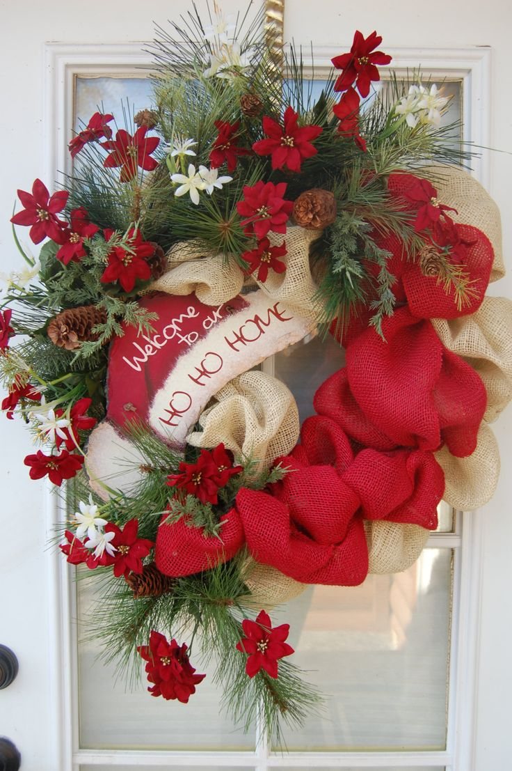 1266 best christmas wreath ideas images on pinterest christmas