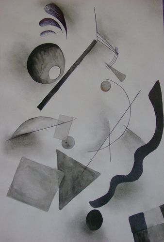 kandinsky black and white - Google Search