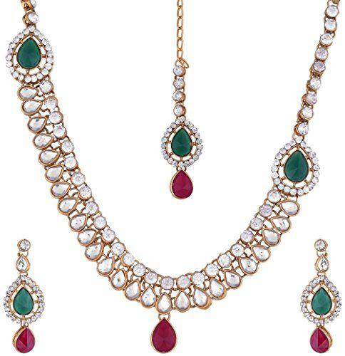 Indian Bollywood Elegant Red & Green Stone Gold Plated We... https://www.amazon.com/dp/B01NCZ5H2L/ref=cm_sw_r_pi_dp_x_jFcLyb5ECPKXS