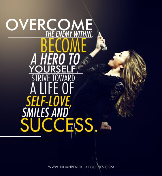 26 best life is an inspiration images on pinterest inspire overcome the enemy within fandeluxe Document