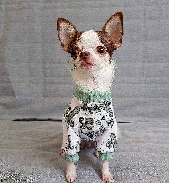 Dog Sweater Dog Pajamas Dog Pjs Dog Costume Sweater Clothes