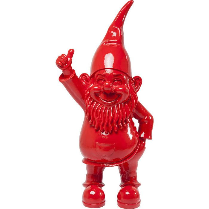 Figura decorativa Enano rojo 152cm - KARE Design