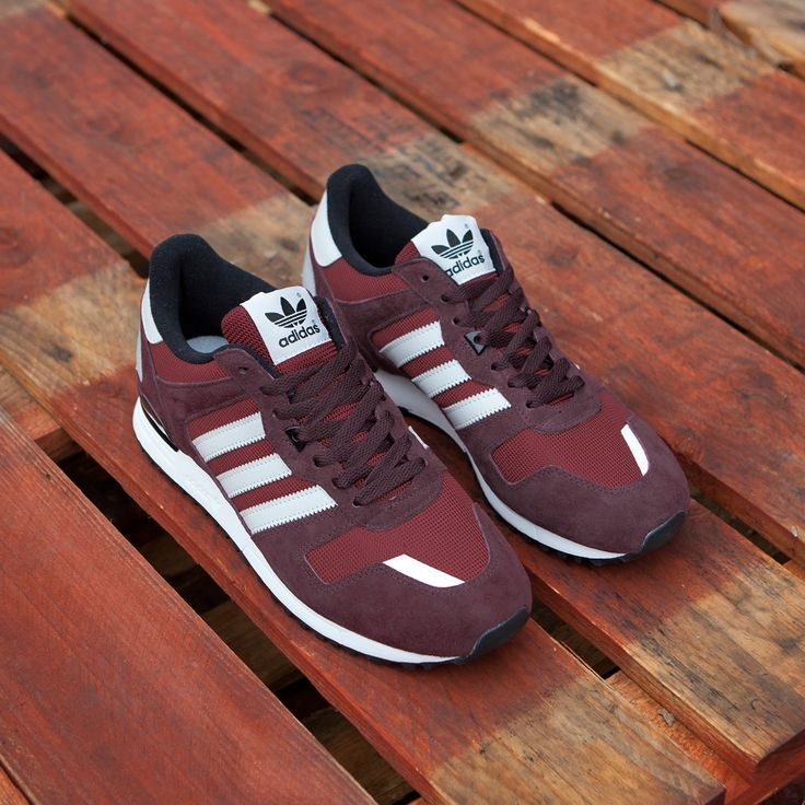 One for the adidas ZX lovers... The 700 just got a burgundy update!