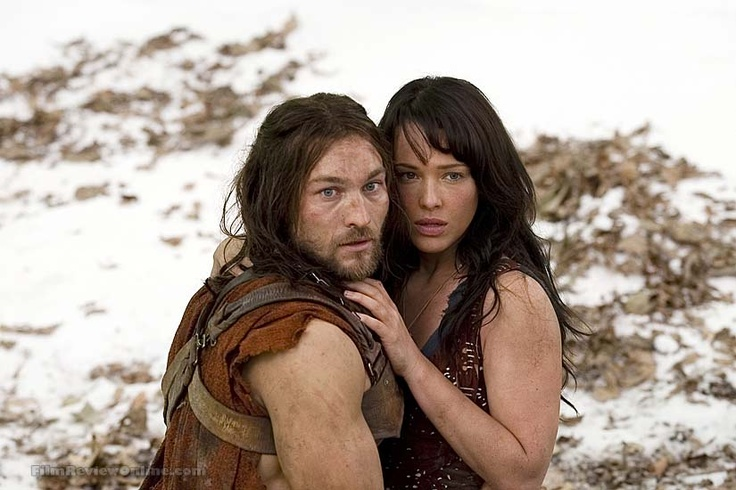Spartacus (Andy Whitfield) and Sura (Erin Cummings) - Spartacus:  Blood and Sand