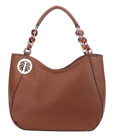 Another great find on #zulily! Brown Multi-Ring Hobo #zulilyfinds