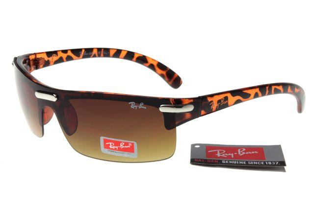 Best Active Lifestyle Ray Ban Leopard Grain Frames Tawny Lenses For Women