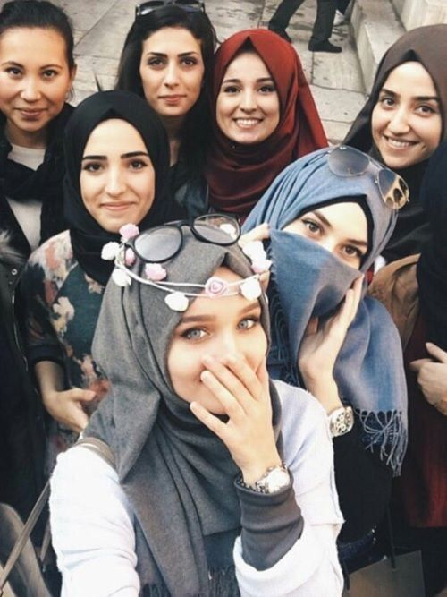 Image de hijab and muslim