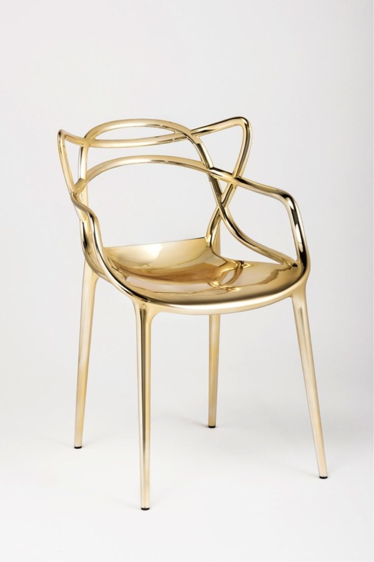"""Kartell """"Master"""" Chair By Philippe Starck. A hybrid of three iconic chair designs by twentieth century designers; Arne Jacobsen, Eero Saarinen and Charles Eames. A preview of what's to come in Salone del Mobile 2014 in Milan. www.essessltd.com"""