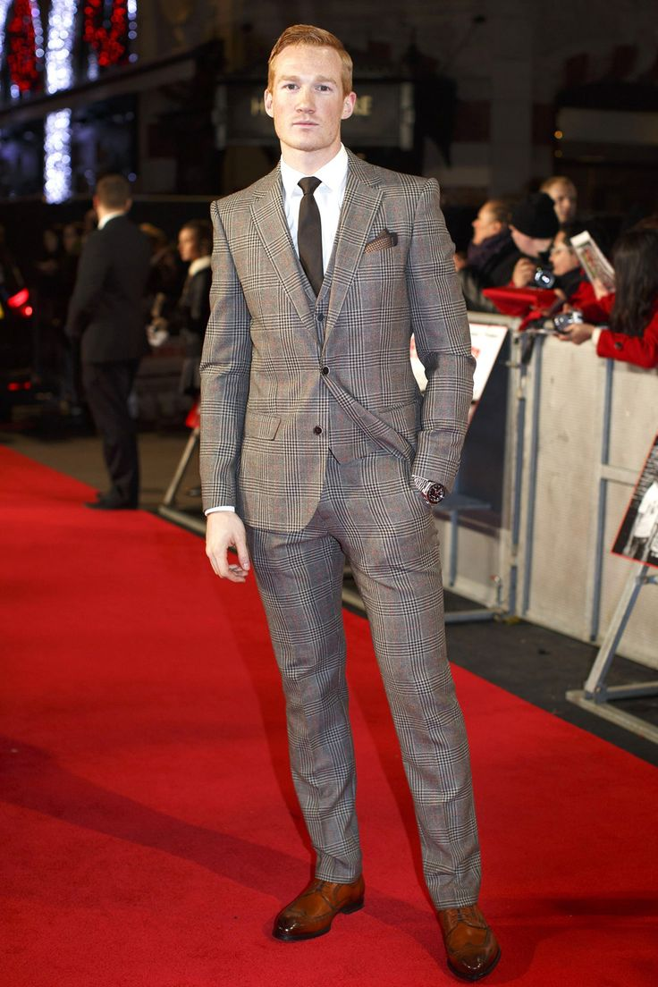 Greg Rutherford has chosen his fantastic, checked three piece suit wisely, by not letting his suit colours overpower his fair complexion. Great choice. The Whipped Cat Bespoke Tailors make Savile Row Quality Bespoke Suits for personal and corporate clients throughout the UK. Contact us now to book a consultation with one of our Travelling Tailors. Please call: 01728 726545 or email: enquiries@thewhippedcat.com
