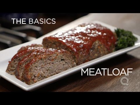 Meatloaf - The Basics - YouTube. Except without the ketchup glaze. I want gravy and mashed potatoes instead.