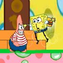 Bob esponja y Patricio en Bubble World