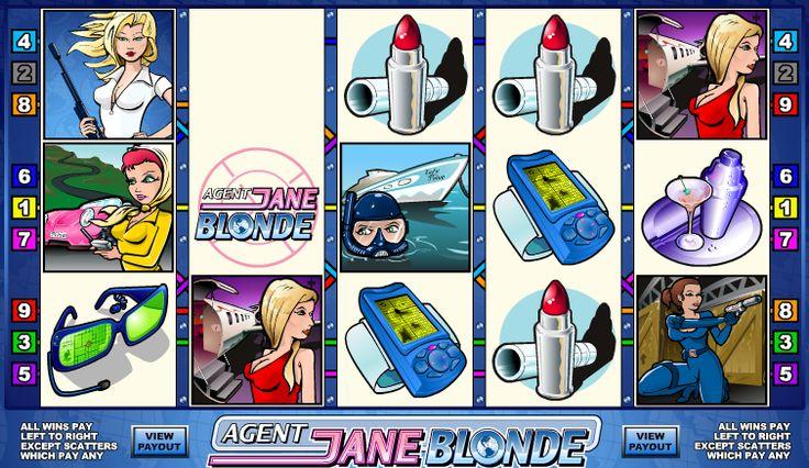 Disfruta de esta máquina de tragaperras online, junto con el agente especial Jane Blonde y trata de ganar el premio mayor - 10 000 monedas!