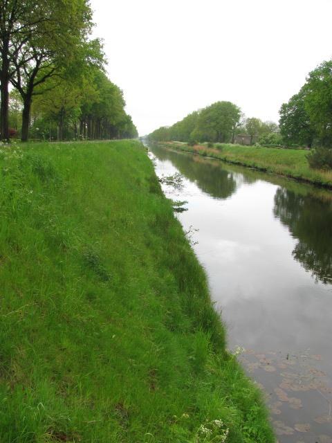 Oranjekanaal in Drenthe.