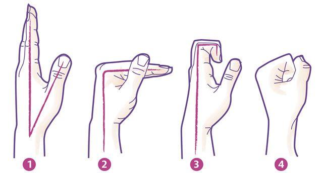 Arthrose: Übungen für die Finger Siegfrid