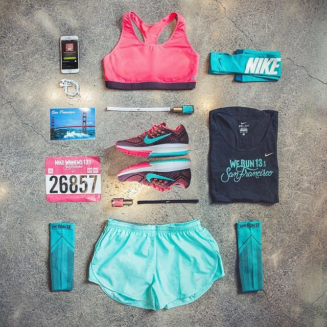 nikewomen's photo on Instagram love this! Very fun running gear :) #nike #runsf