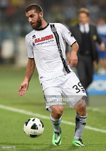 Guido Marilungo of Cesena in action during the Serie B playoff match between Modena FC and AC Cesena at Alberto Braglia Stadium on June 8 2014 in...
