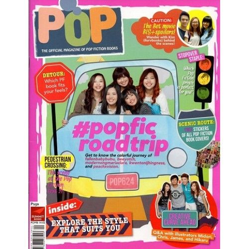 Pop ( The Official Magazine of Pop Fiction Books )