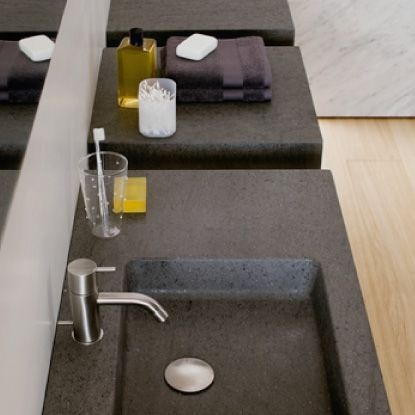 Washbasin Square: #bathroom, #washbasins, #stone, #design, #madeinitaly, #naturalstone, #interior, #architecturedesign, #interiordesign, #forniture,
