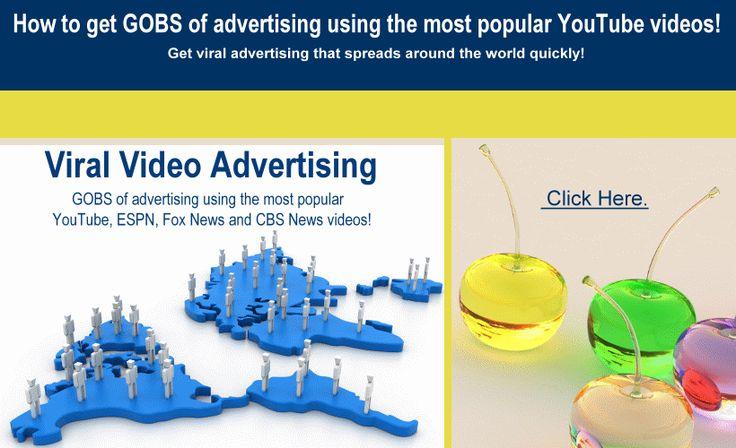 Viral Video Advertising. Infinity Power bonus Tabs.