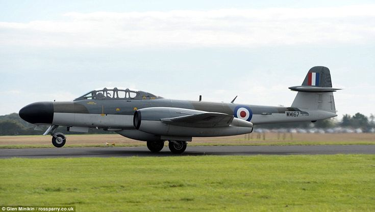 The Gloster Meteor's (pictured) development was heavily reliant on its ground-breaking tur...