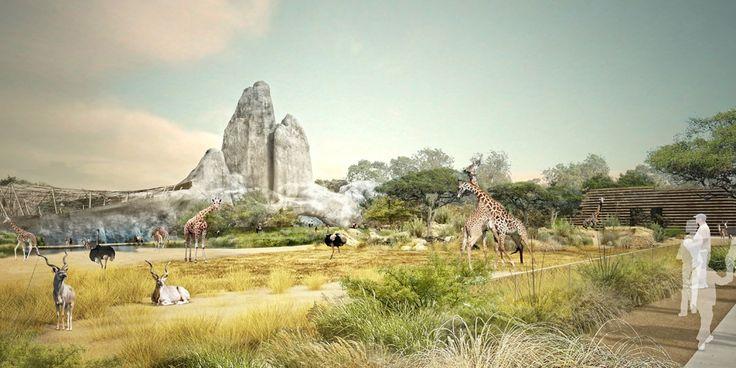 """Réouverture du parc zoologique de Paris ou Zoo de Vincennes : Un """"voyage à travers la planète""""."""