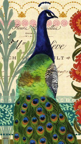 """Set of 2,Guest Towel Size Napkin, 4.5""""x8"""", Pack of 15, Proud Peacocks by Evergreen. $10.99. 3-ply, standard guest towl napkin size. 4.5""""Wx8""""H. 15 per package. Made with food-safe and non-bleed ink. Set of 2. Made from the highest quality paper, these napkins are the perfect addition for your next party. Created with safe non-bleed ink, not only are these napkins a beautiful addition to any event you're hosting, they never leave any inky residue on tables, lips, or ..."""