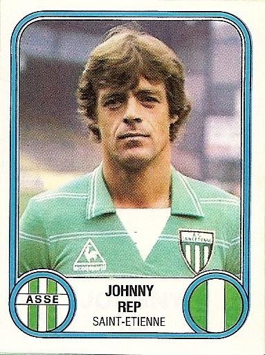 Johnny Rep (A.S.Saint-Etienne) 1982