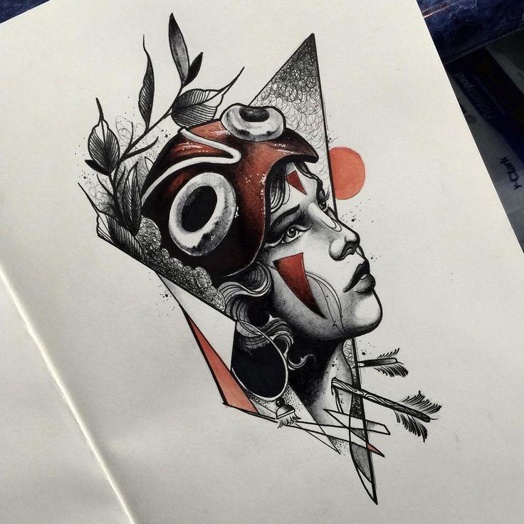 This one is ready to go ! Email me noircorpus@gmail.com #darkart #tattoo #ghibli #tattooart #tattooartist #graphictattoo #abstracttattoo #mononoketattoo #sketchtattoo #blacktattoo #blackworkers #blackworkerssubmission #neotrad #neotraditional #neotraditionaltattoo  #drawing #sketchtattoo #sketch #iblackwork #btattooing #blxckink #blacktattooart #melbourne #melbourneart #melbournetattoo #australiatattoo #blackworkers_tattoo #foxbodyart #darkartists #mononoke #princessmononoke