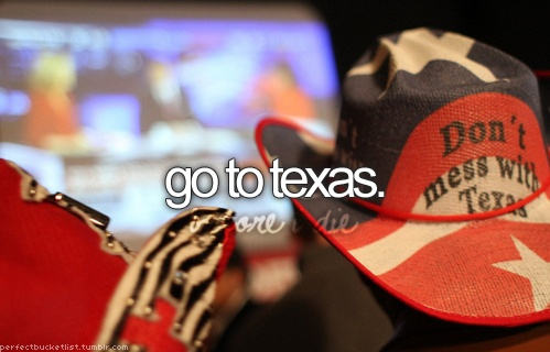 ..: Bucketlist, Buckets, Check, Texas, Things, Places, The, Bucket Lists