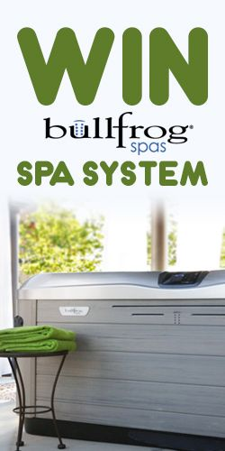 Win a Bullfrog Spa System