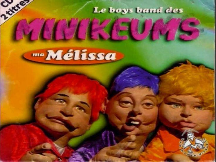 Ma Mélissa - les Bogoss Five aka le Boys Band des Minikeums