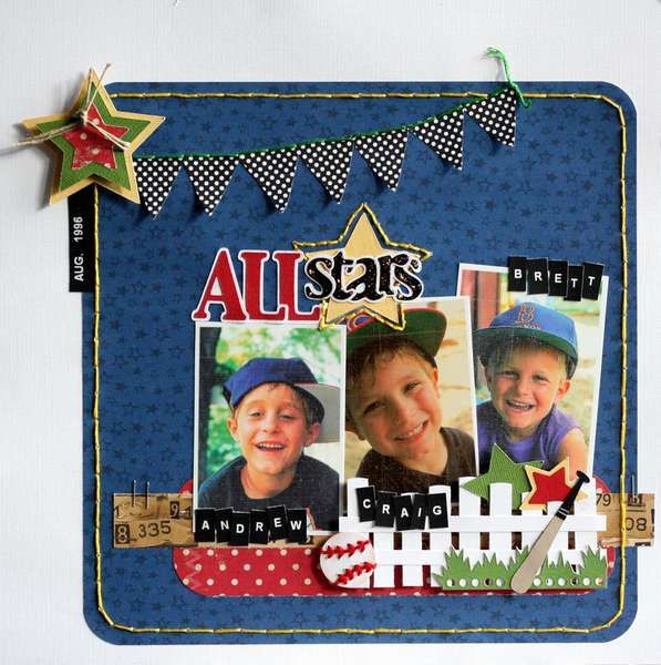 Baseball: Boys Layout, All Star, Galleries, Sports Layout, Allstar, Ascrapbook Baseball, Scrapbook Layout, Baseball Scrapbook, Crafts