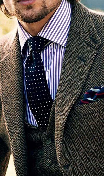 2017 Wedding Trends :: Tweed Grooms Suit
