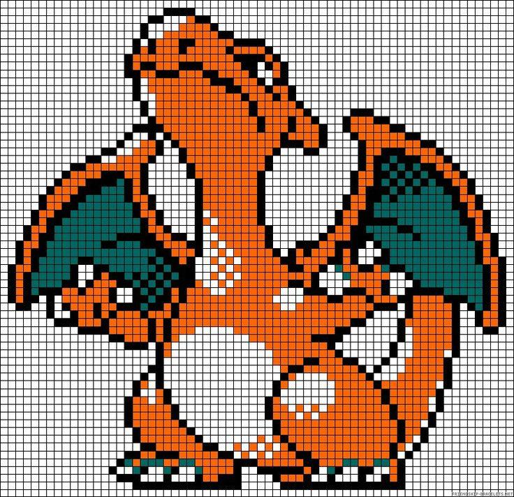 38 best Pixel Pokemon images on Pinterest   Hama beads, Art pokemon and Beading patterns