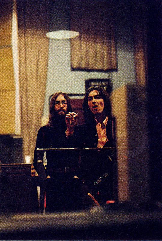 """18th April 1969, Studio Three, recording session for """"Old Brown Shoe""""."""
