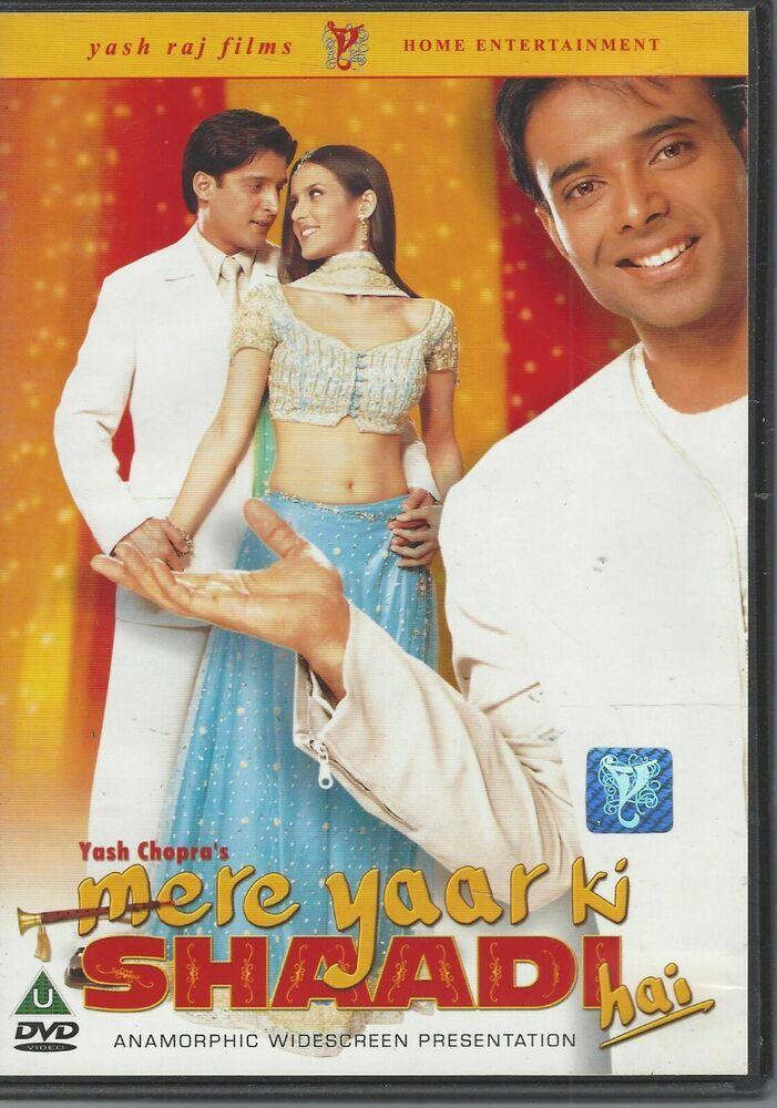 Mere Yaarki Shaadi Dvd 2002 Hindi Language With Sub Titles Full Movies Online Free Free Movies Online Movies Online