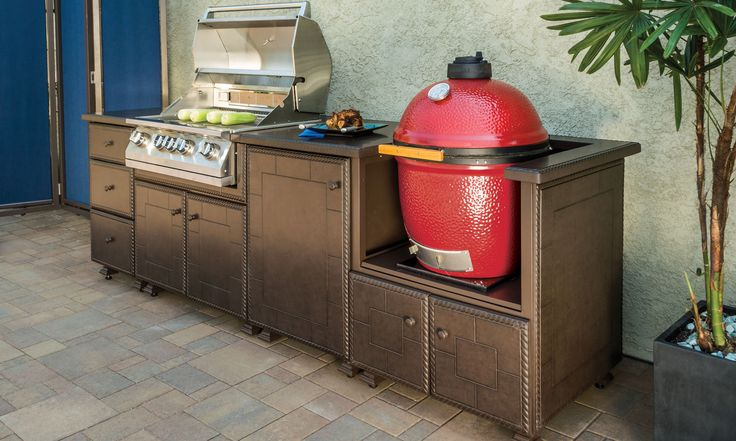 25 best ideas about outdoor grill island on pinterest for Prefab outdoor kitchen grill islands