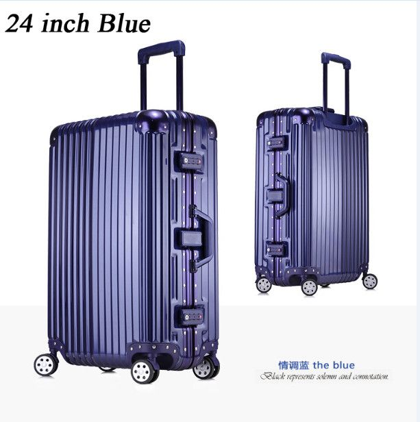 2015 New 20inch Large Capacity Travel Suitcases, Men Business Travelling Luggage, Women Waterproof Spinner Trolley Suitcase
