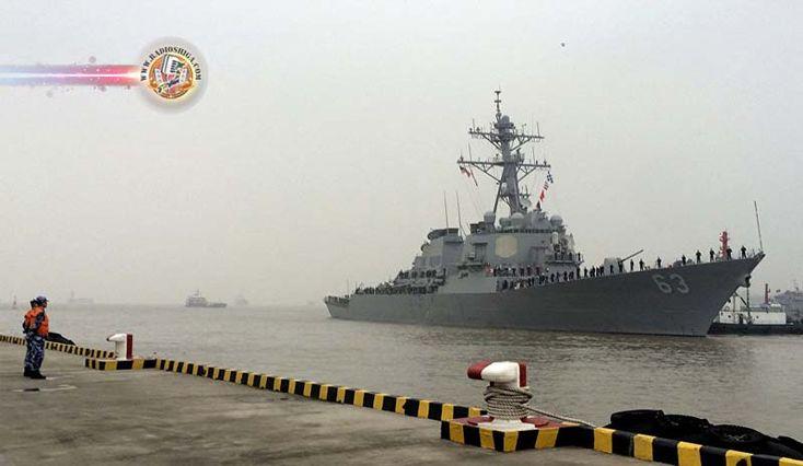 EUA envia mais um contratorpedeiro ao Mar da China Meridional. Os EUA enviaram o contratorpedeiro USS Stethem ao Mar da China Meridional, informou a assesso