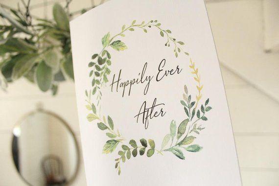 Handmade Newlyweds CardWedding CardBridal ShowerWedding Congrats CardEngagement Card Congratulations CardBride and Groom