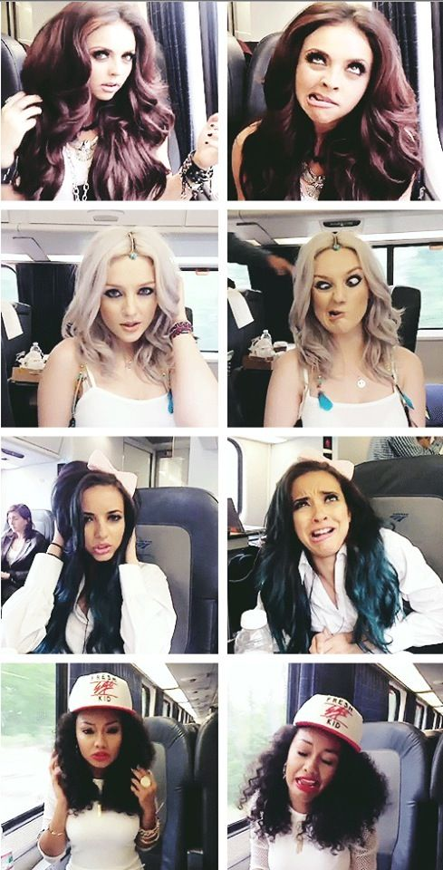 When your idols make ugly faces but still look gorgeous... (Little Mix Funny)