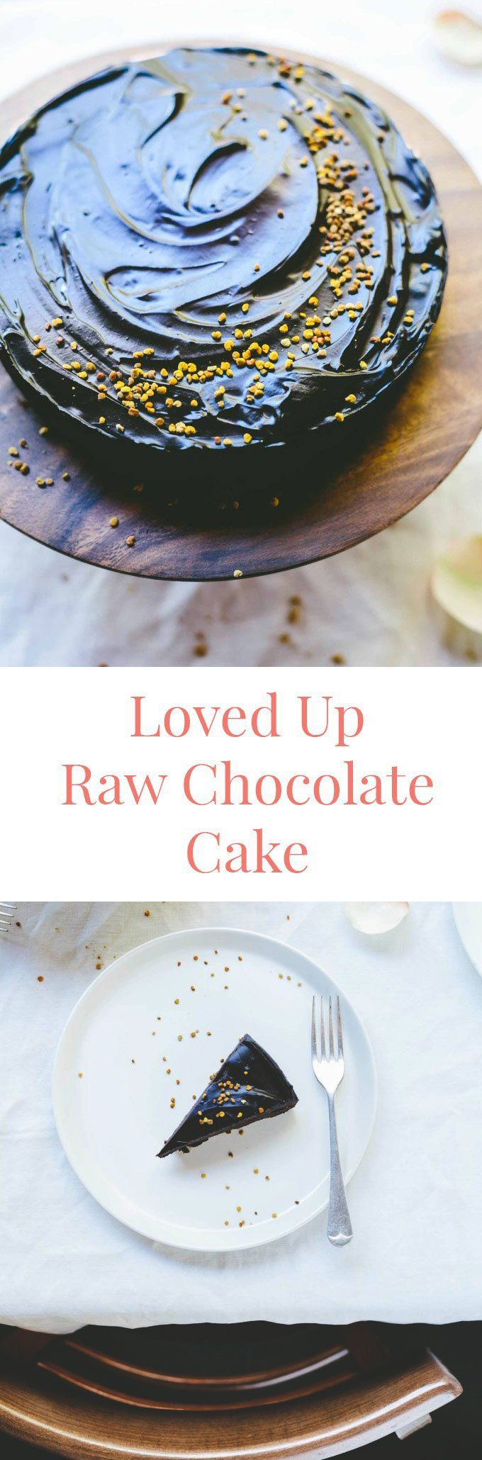 My Loved Up Raw Chocolate Cake is a revelation. Gluten-free, sugar free, dairy-free, nut-free and vegan, this dessert is perfectly rich and gooey.