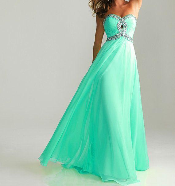 Sky blue prom dress,sweetheart prom dresses,chiffon prom dress,cheap evening dress