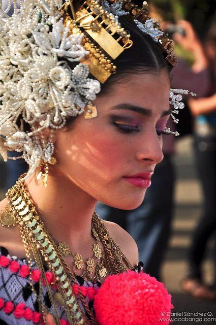 Pollera традиционна носия, Панама: