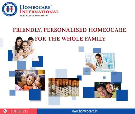 Homeocare International is a world class Homeopathy Hospital spread over South India with the 30 best Homeopathy Clinics in Hyderabad, Chennai, Bangalore. It aims to give advanced Homeopathy Treatment to provide relief from all Acute & Chronic disorders. Homeocare International yields the safe & non toxic medicines to get a permanent cure.