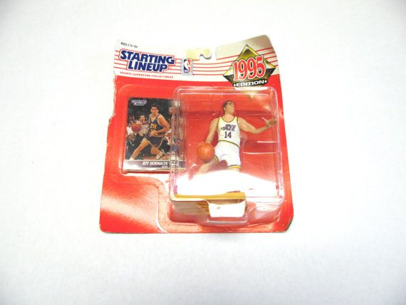 Sports Collectible 1995 Jeff Hornacek Utah Jazz by sweetie2sweetie