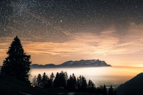 missing the mountain night sky...
