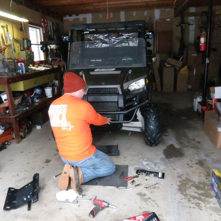 Installing The Polaris Ranger Midsize Plow Pro Heavy Duty