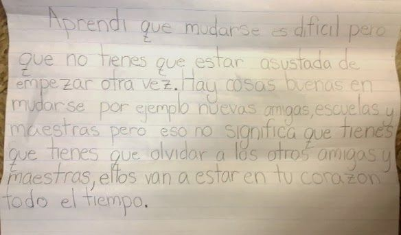 Personal essay in spanish