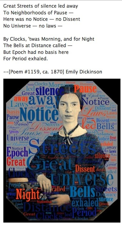an analysis of the idea of riddling in emily dickinsons poetry Emily dickinson was a well-known poet of the mid-1800s whose numerous works have stood the test of time but what in the world did her poems really.